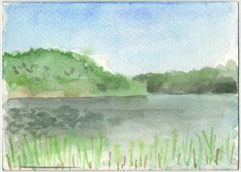 Lake by tamino