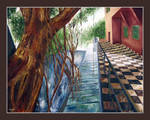 tiled floor above by tamino