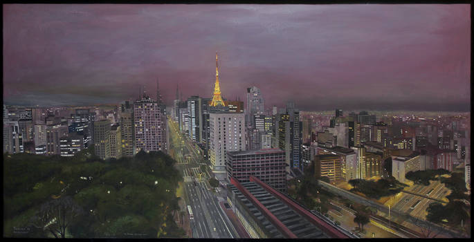 Paulista Avenue by tamino