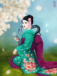 Desi's Geisha by dreamerofwords21