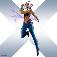 X-Men: Storm by arunion