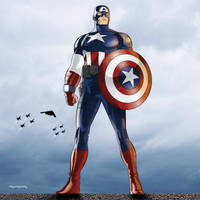 Avengers: Captain America by arunion