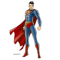 Superman by arunion