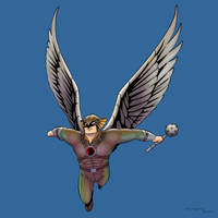 Hawkman by arunion