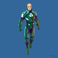 Lex Luthor (Power Suit) by arunion