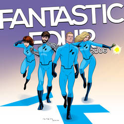 The Fantastic Four 2006 by arunion