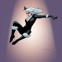 The Black Cat (Felicia Hardy) by arunion
