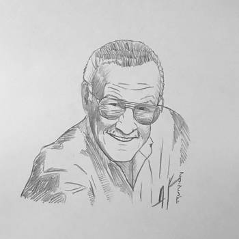 Stan Lee by arunion