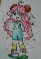 Amber the Sheep by ShoothingStarArts