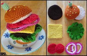 Yummy Hamburger by Petra0