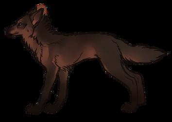 Wolf Adopt by tropicalnerd