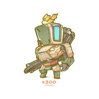 #300 - Bastion by Jrpencil