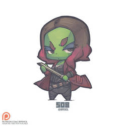 508 - Gamora by Jrpencil