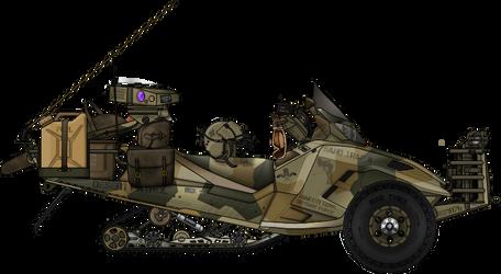 Pronghorn SMK Sandmobile ATV by AC710N87