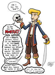Guybrush Threepwood by SethWolfshorndl