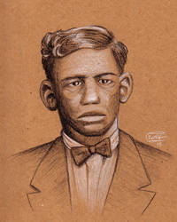 Charley Patton by SethWolfshorndl