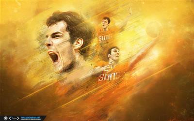 Goran Dragic Sun Dragon Wallpaper by tmaclabi