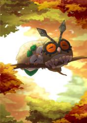 The warmest autumn by Hazel-teal