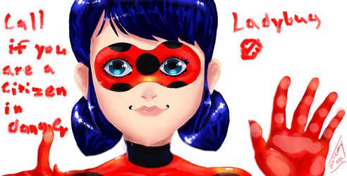 Ladybug by sonicxamy135