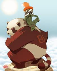 Wax's Panda by pacman23