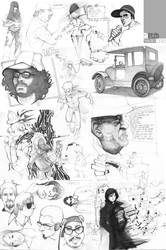 oO sketchBOOK Oo by pacman23