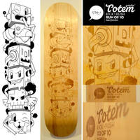 Grindin' Totem by pacman23