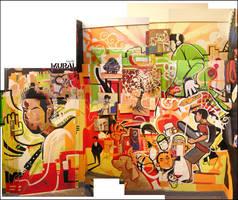 oO Mural Oo by pacman23
