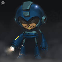 Blue Bomber by pacman23