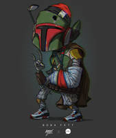 Boba Fett Colors by pacman23