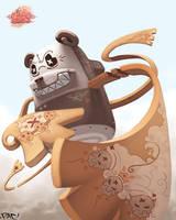 oO Panda2 Oo by pacman23