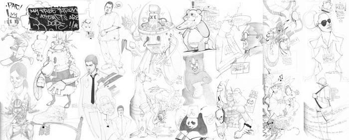 oO SketchBOOK3 Oo by pacman23