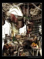 Study Chamber of the Archmage by MadMaximus83