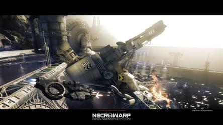 Necrowarp - Arcade Game Art Project - Image 01 by MadMaximus83