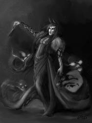 The Necromancer by RennaLorie