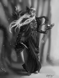 The Druid by RennaLorie
