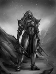 The Warrior by RennaLorie