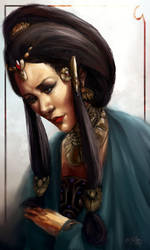 Empress of a Foreign Land by RennaLorie