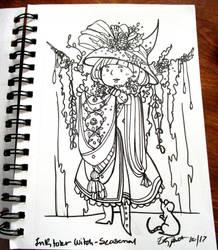 The Seasonal Witch-Winter by RennaLorie