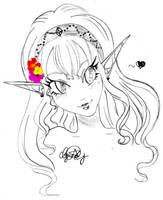 Gift - Zeldalina by Hey-Hopper