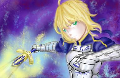 Excalibur! by ArtAlchemist709