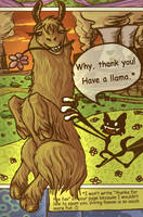 Have a llama by GingerFoxy