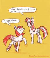 Twilight meets RainCloud by GingerFoxy