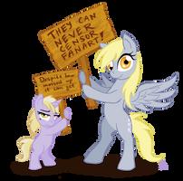 Nobody can censor fanart! by GingerFoxy