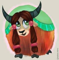 Yak Is Best Pony by GingerFoxy