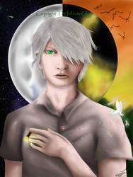 Ginko (Digital) (With video process :) ) Ver. 1 by TheInfiniteGlow