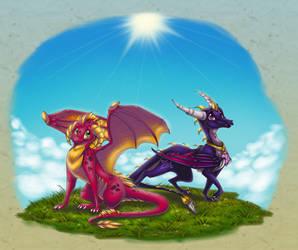 Ash + Nina - The Dynamic Duo by ThisCrispyKat