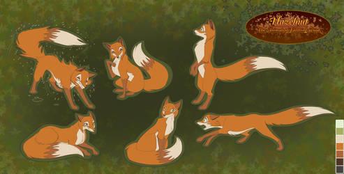Hazelnut of White Deer Park by ThisCrispyKat