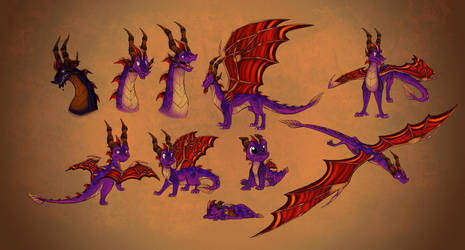 Spyro The Dragon by ThisCrispyKat