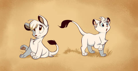 White Lionesses by ThisCrispyKat