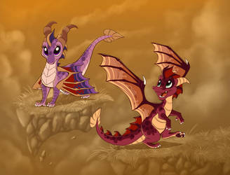 The Legend of Spyro - A New Generation by ThisCrispyKat